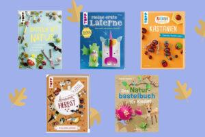 Bastelbücher für den Herbst Kinder basteln Naturmaterialien DIY